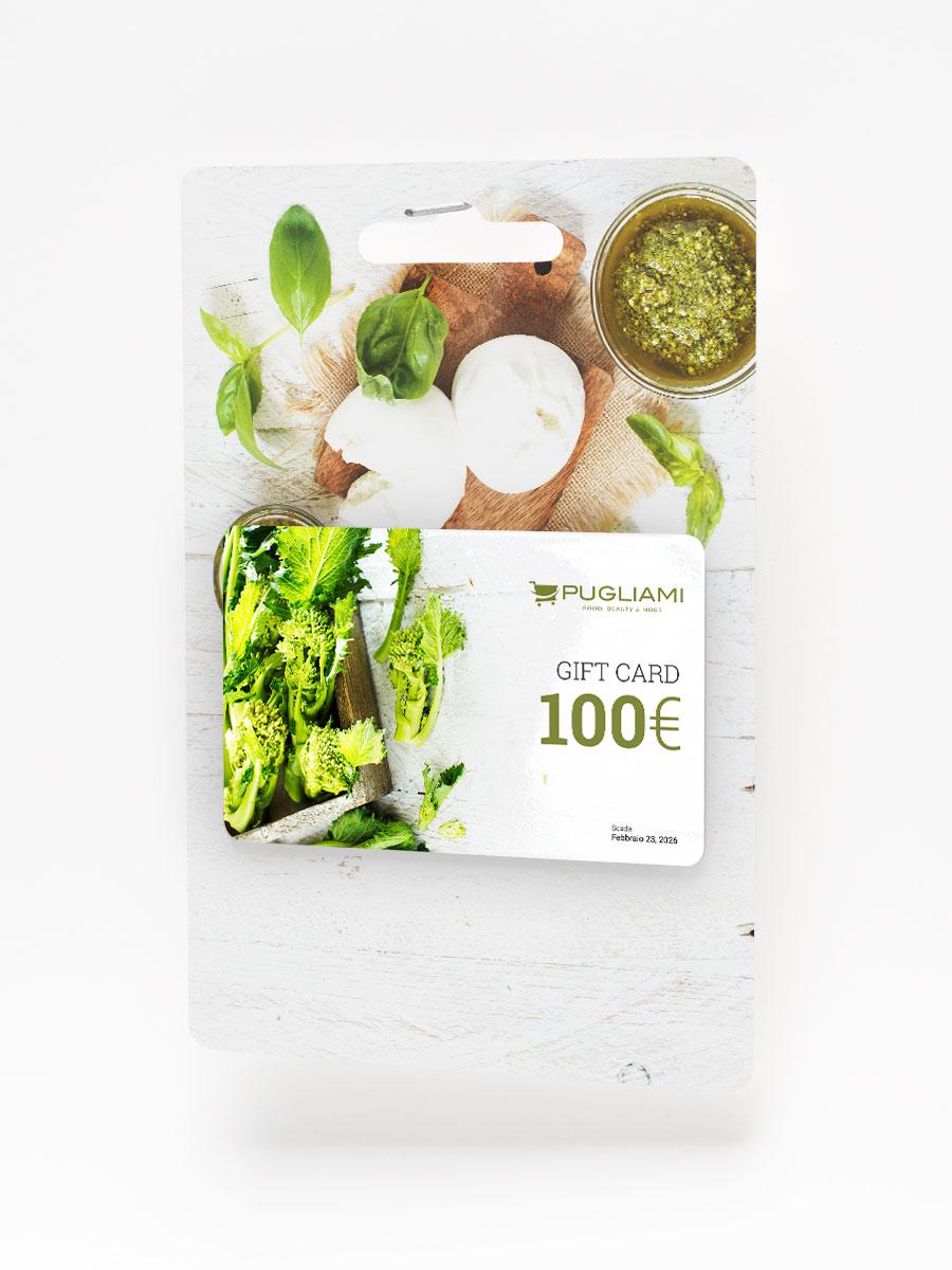 Gift Card Pugliami da 100 euro