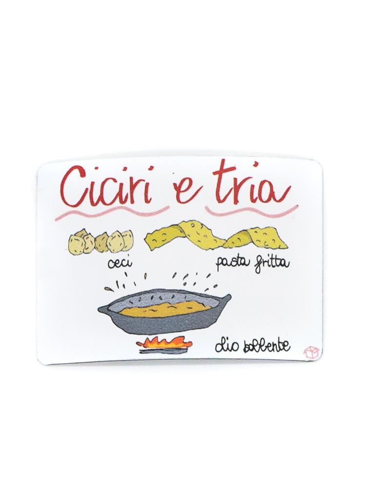 Calamita Puglia frigo Ciciri e Tria