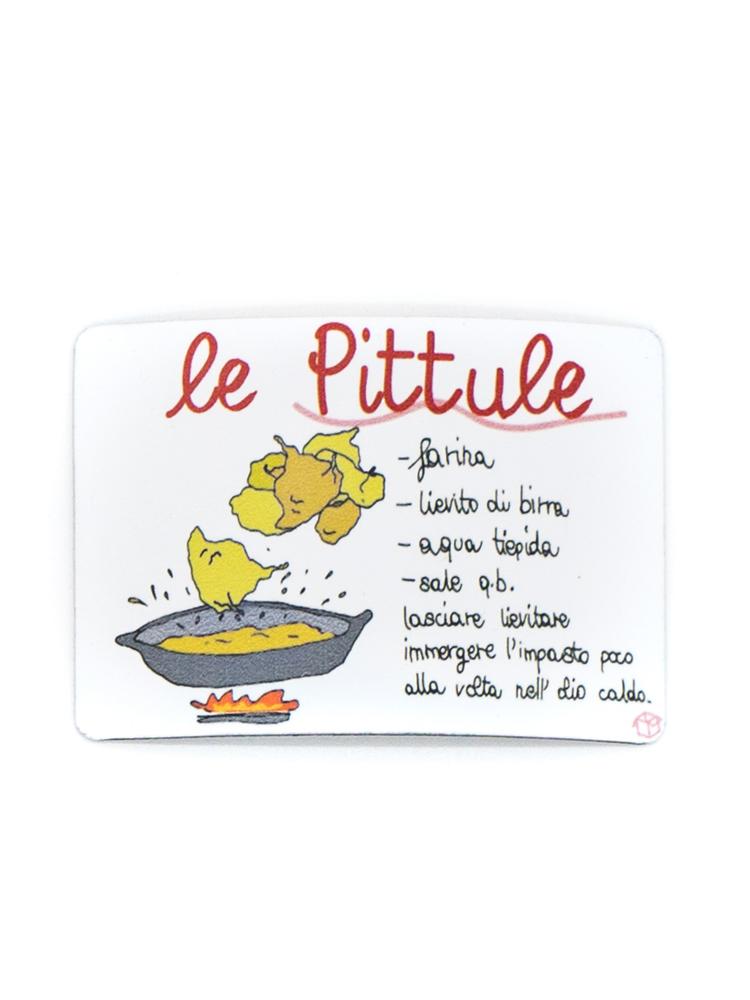 Calamita Puglia frigo Pittule