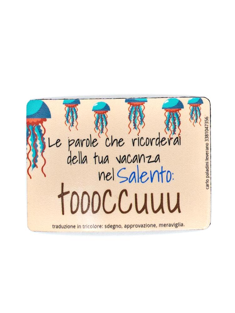 Calamita Puglia frigo Toccu